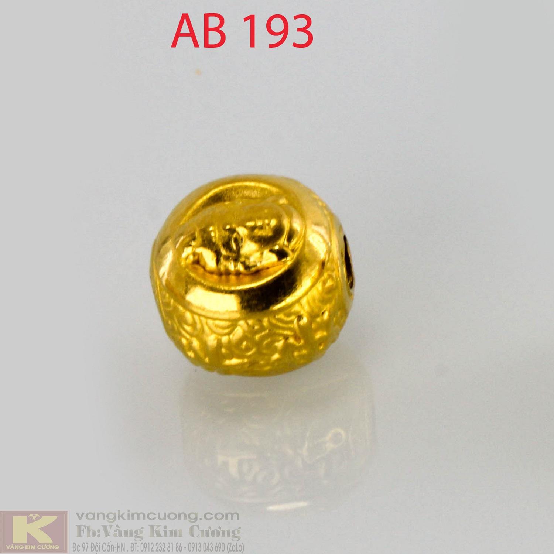 Charm cầu bình an 24k mã AB193