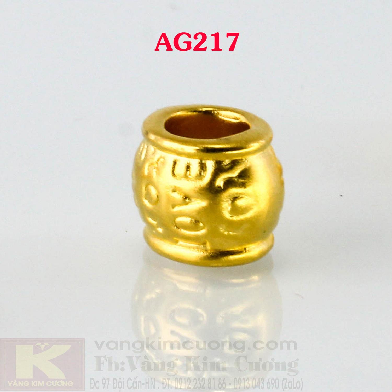 Charm cầu vàng 24k mã AG217