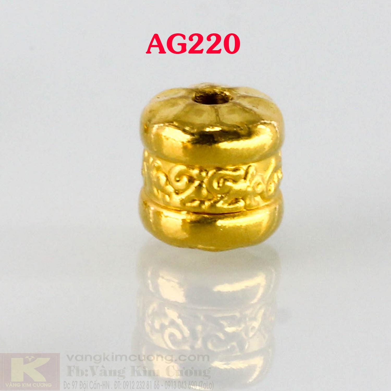 Charm cầu bình an 24k mã AG220