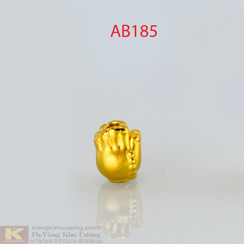 Charm cầu may 24k mã AB185