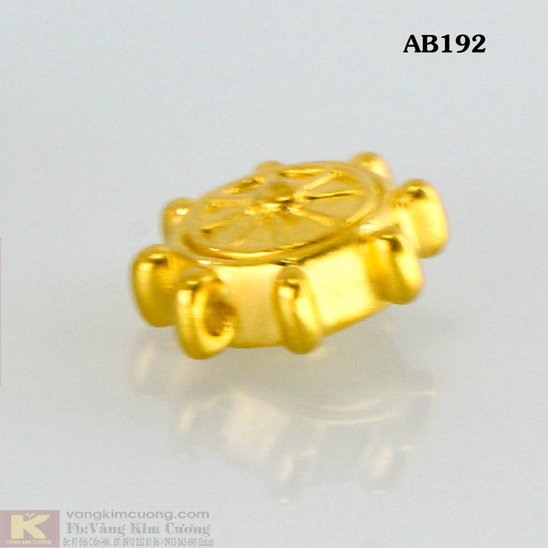 Charm vòng quay may mắn 24k mã AB192