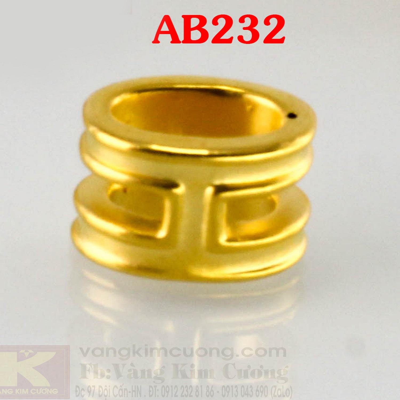 Charm trụ bình an 24k mã AB232