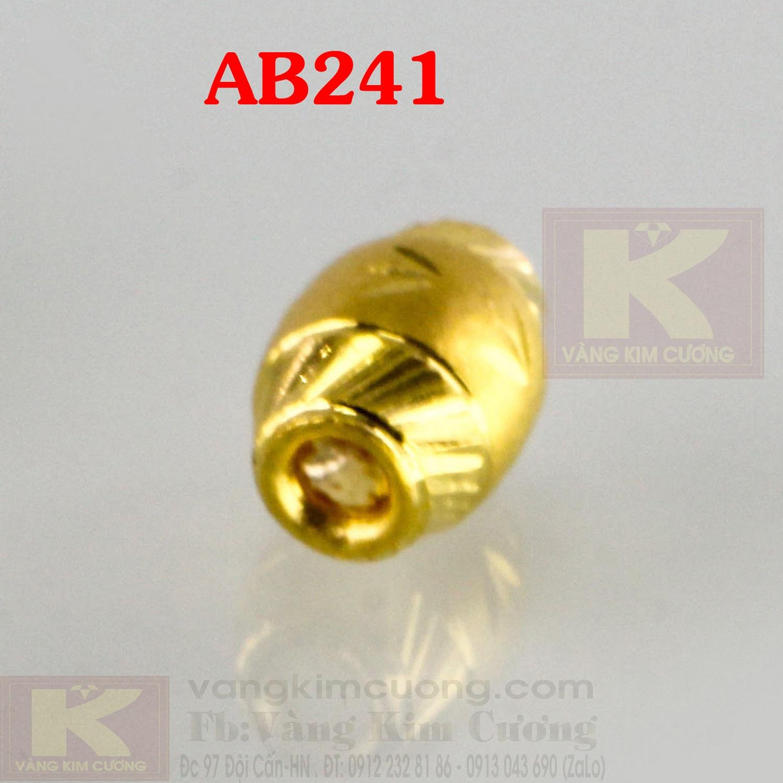 Charm cầu phú quý 24k mã AB241