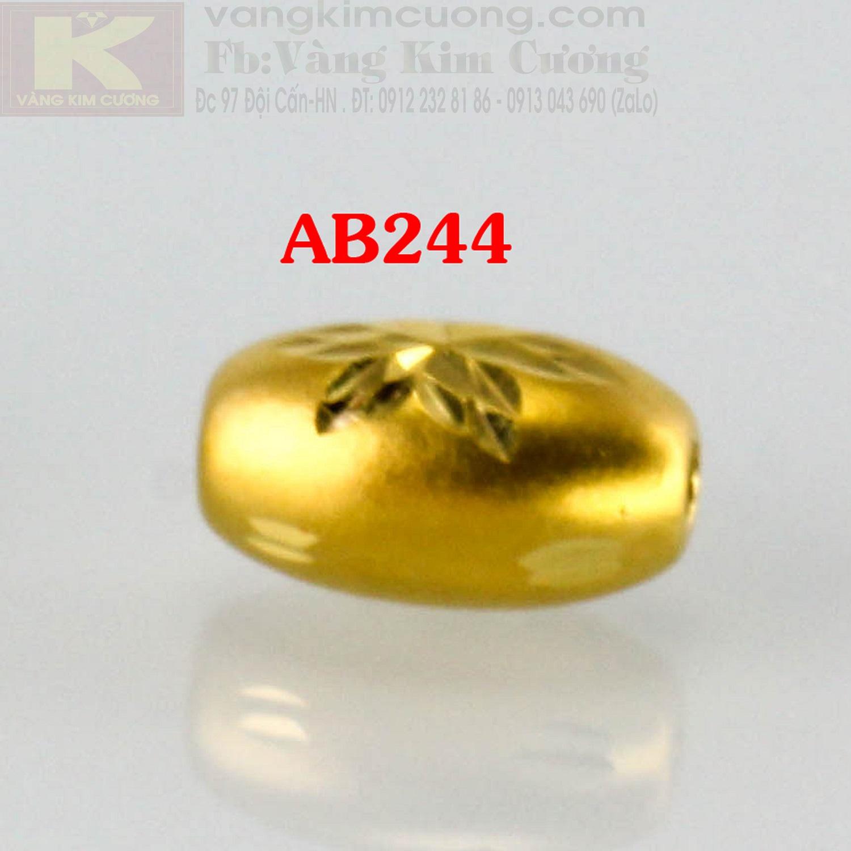 Charm cầu bình an 24k mã AB244