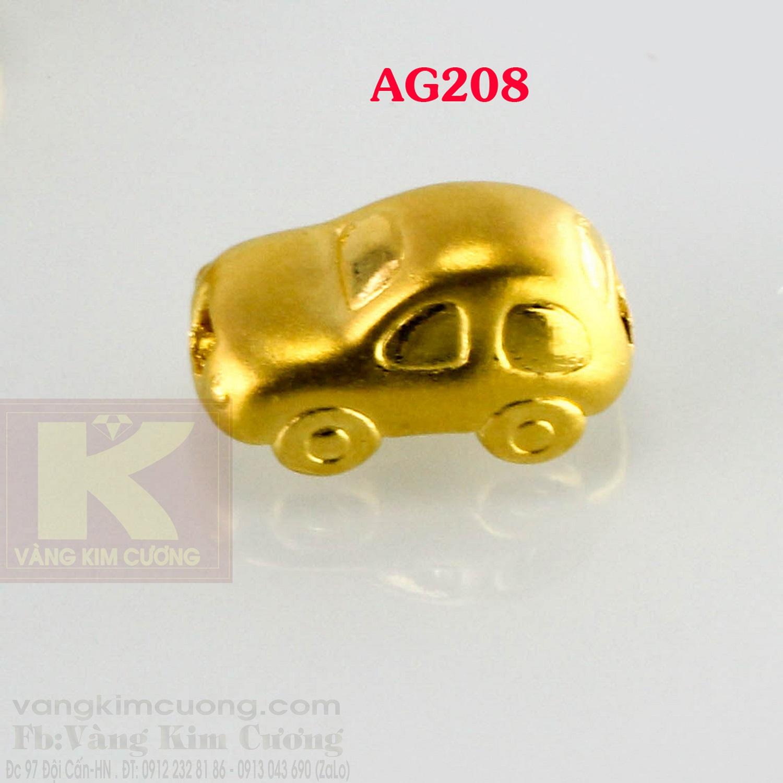 Charm xế vàng 24k mã AG208