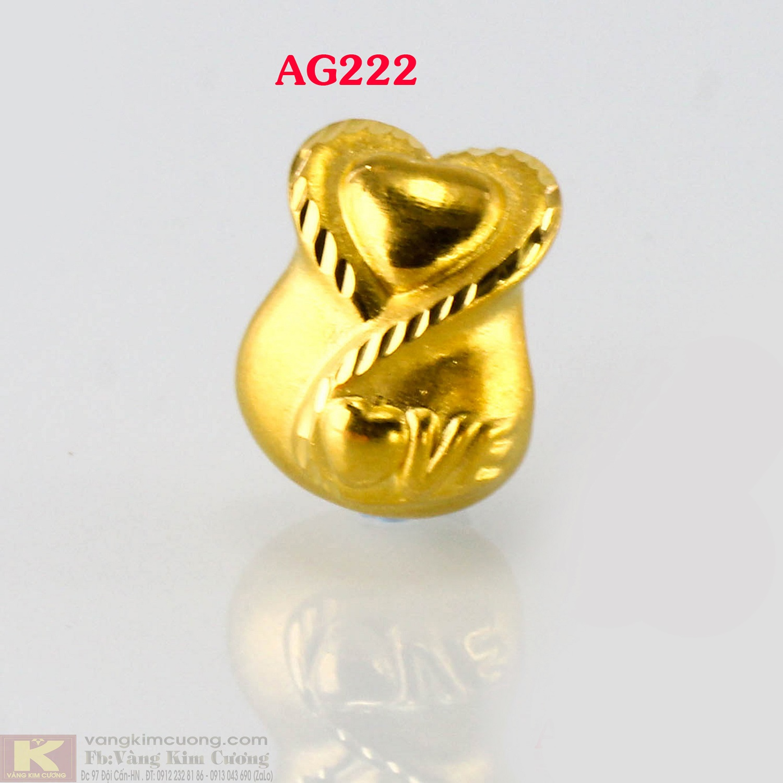 Charm túi tiền 24k mã AG222