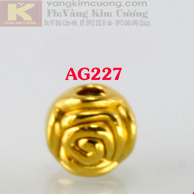 Charm hoa hồng mã AG227