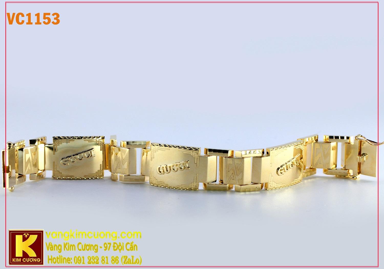 Lắc tay nam 16k 3D VC1153