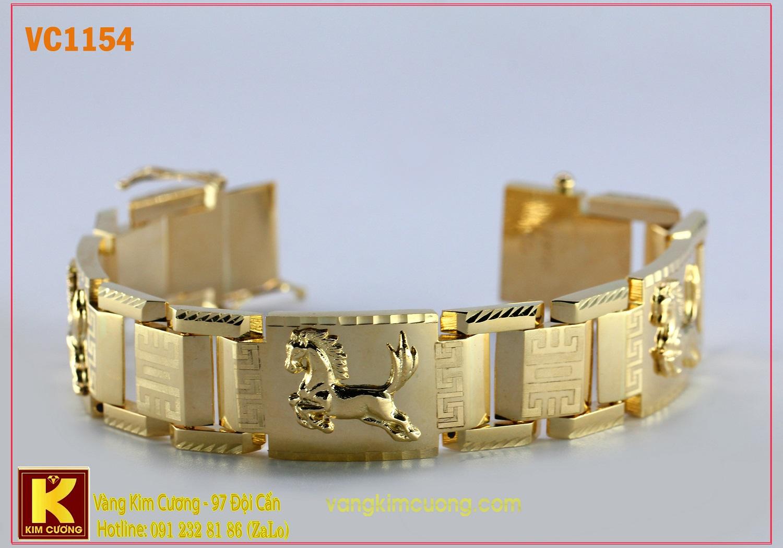 Lắc tay nam 16k 3D VC1154
