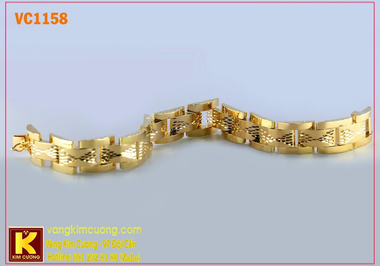 Lắc tay nam 16k 3D VC1158