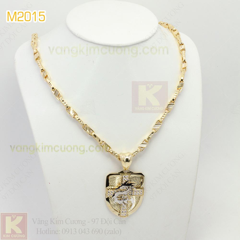 Mặt dây nam 10k korea M2015