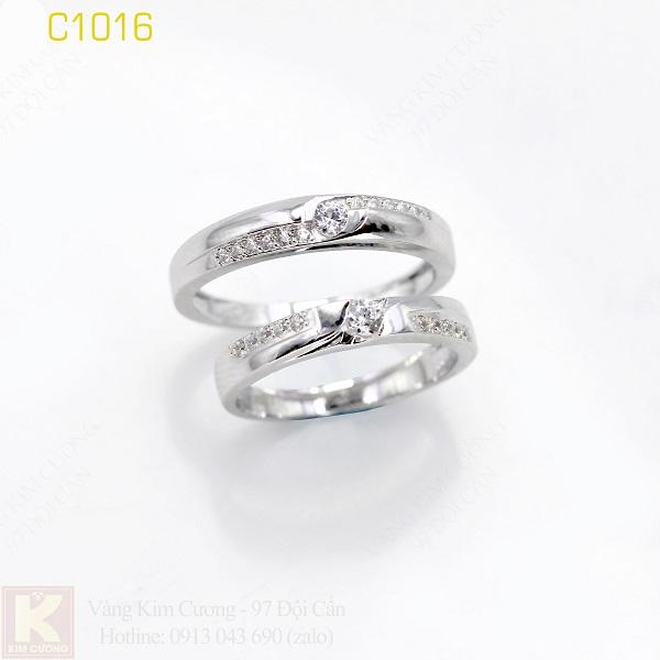 Nhẫn cưới italy 18k C1016