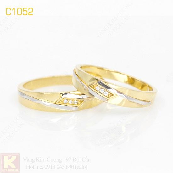 Nhẫn cưới vàng C1052