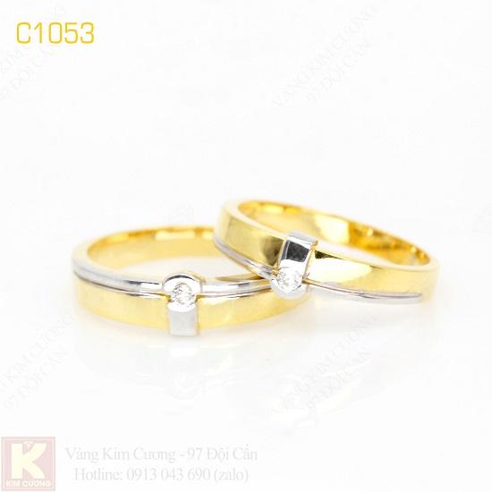 Nhẫn cưới vàng C1053