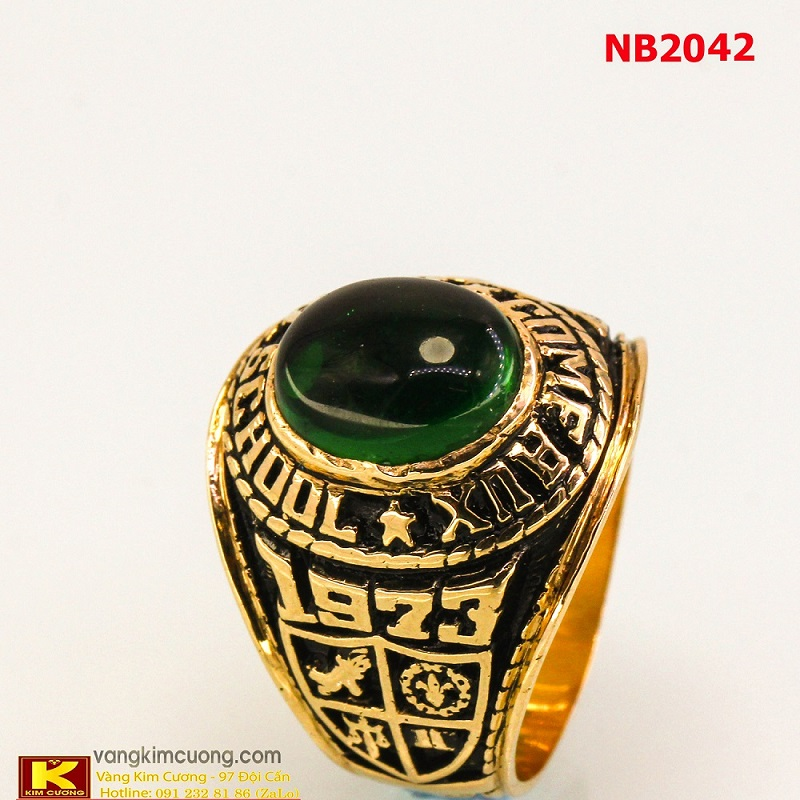 Nhẫn nam đá quý phong thủy NB2042