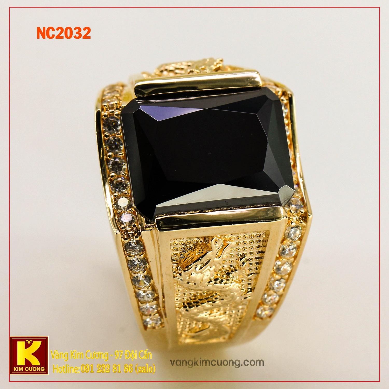 Nhẫn nam đá quý phong thủy NC2032