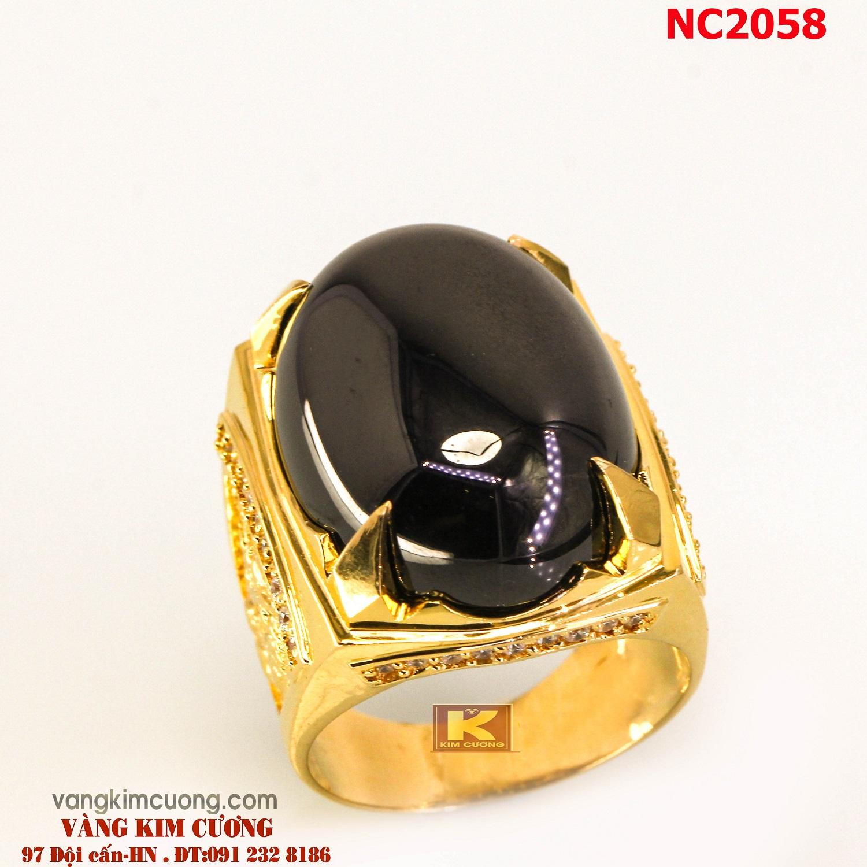 Nhẫn nam đá quý phong thủy NC2058