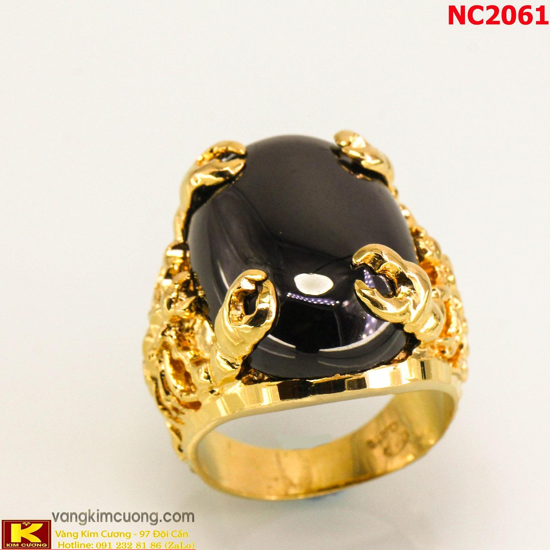 Nhẫn nam đá quý phong thủy NC2061