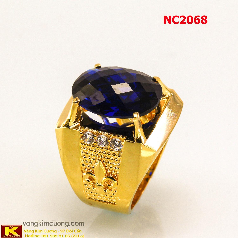 Nhẫn nam đá quý phong thủy NC2068
