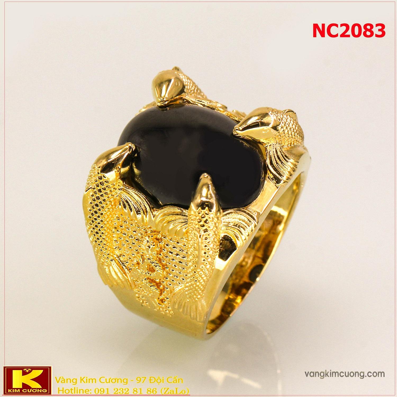 Nhẫn nam đá quý phong thủy NC2083