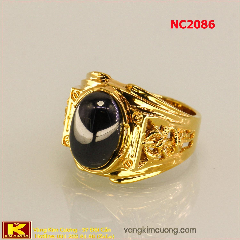Nhẫn nam đá quý phong thủy NC2086