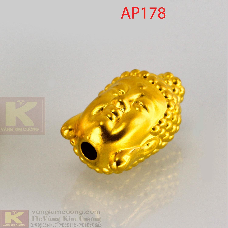 Charm Phật tông vàng 24k mã AP178