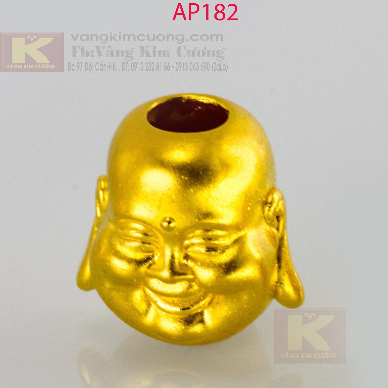Charm phật Di Lặc vàng 24k mã AP182