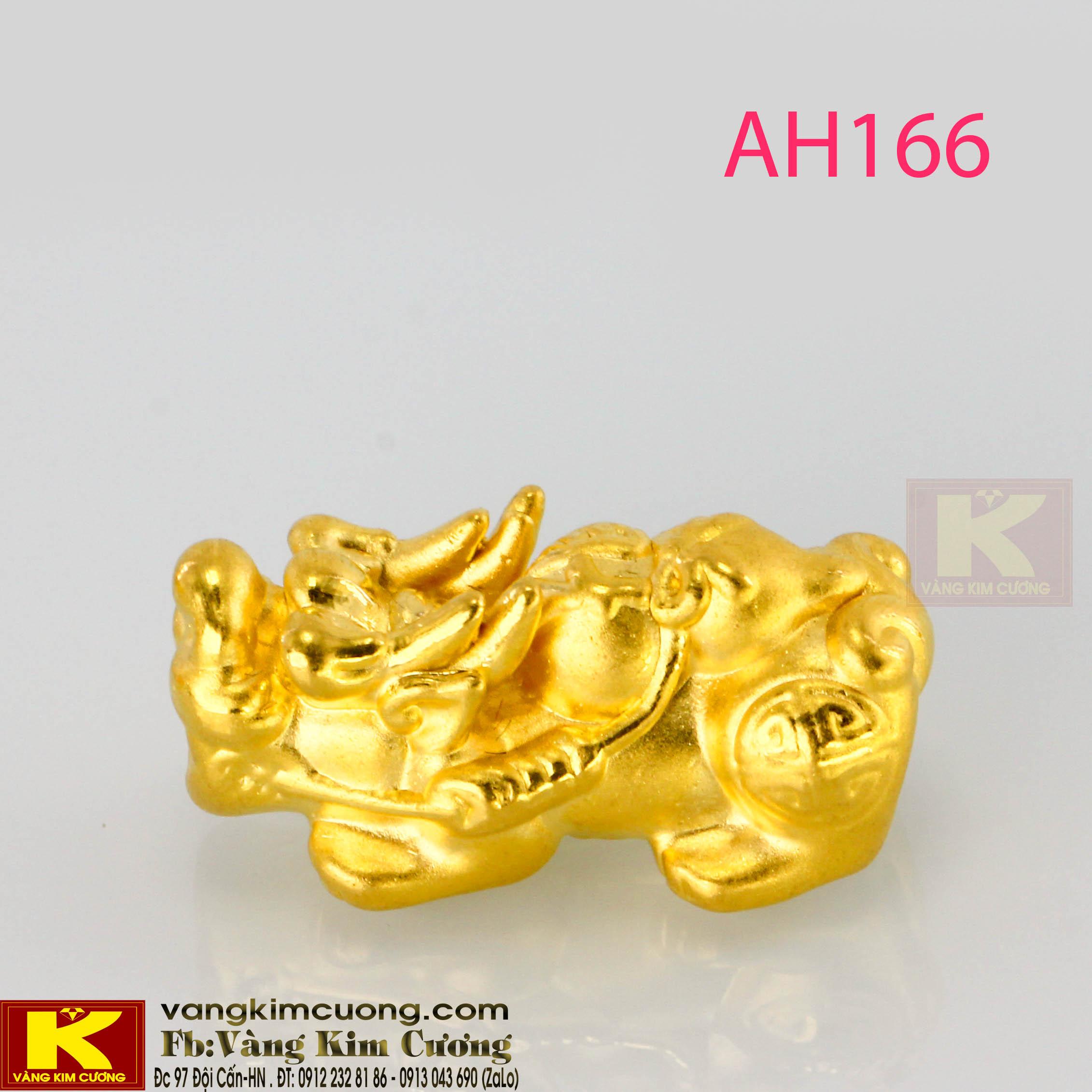 Tỳ hưu vàng 24k AH166