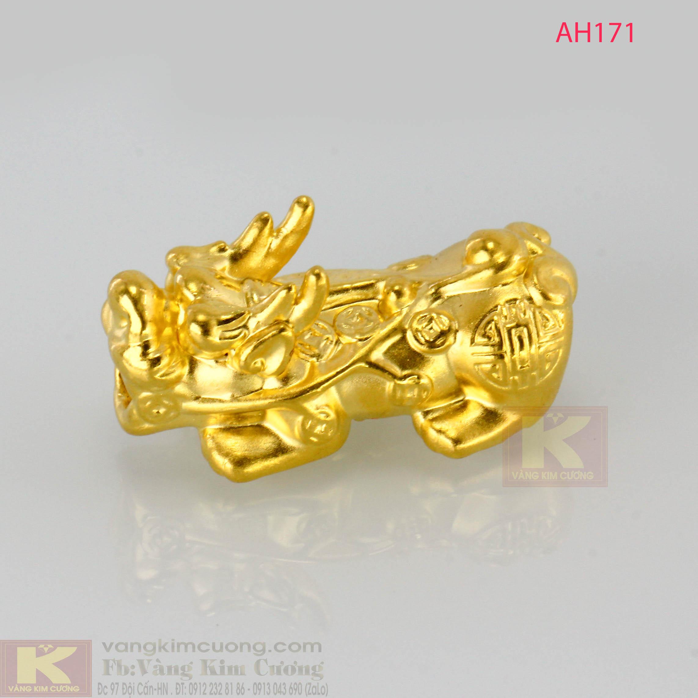Tỳ hưu vàng 24k mã AH171
