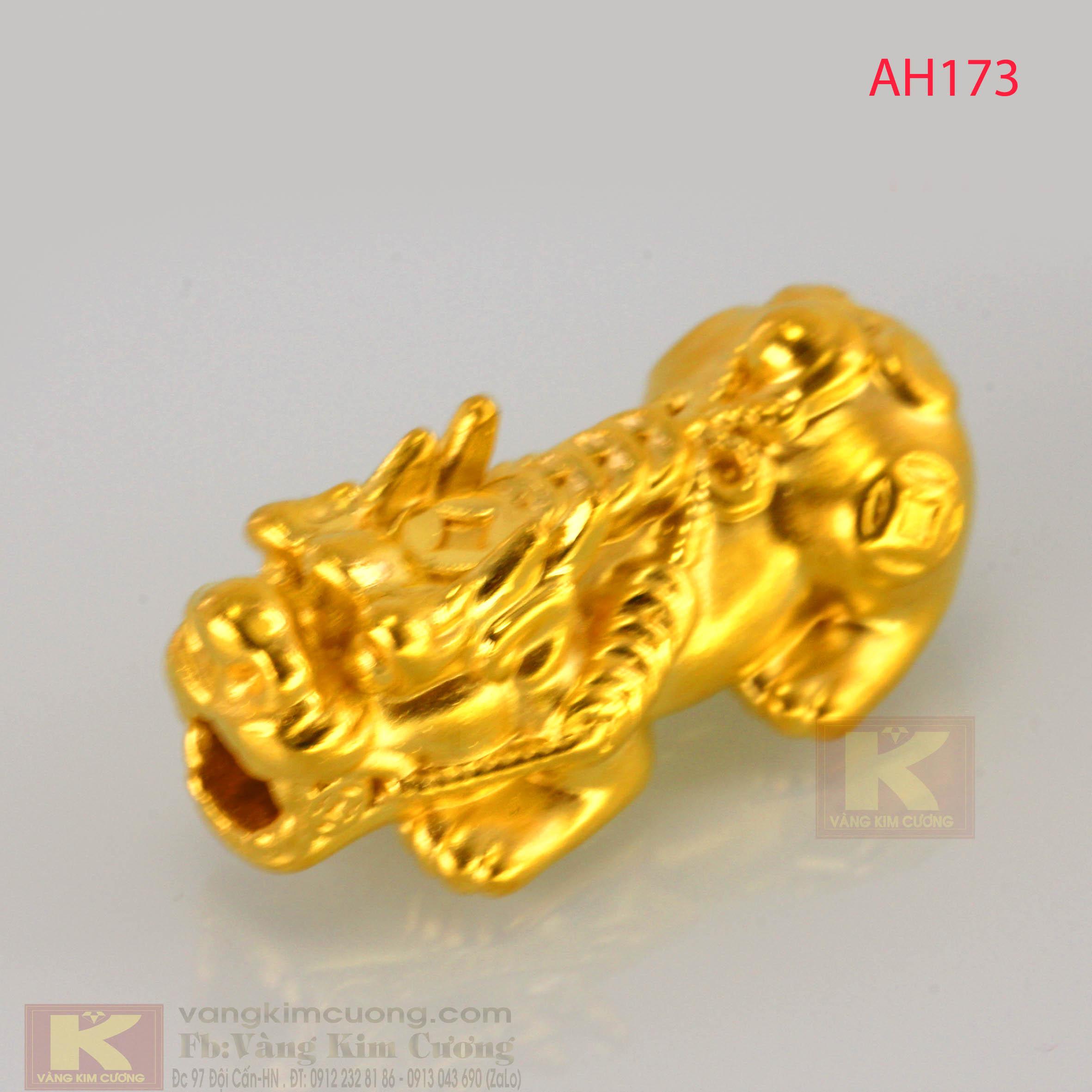 Tỳ hưu vàng 24k mã AH173