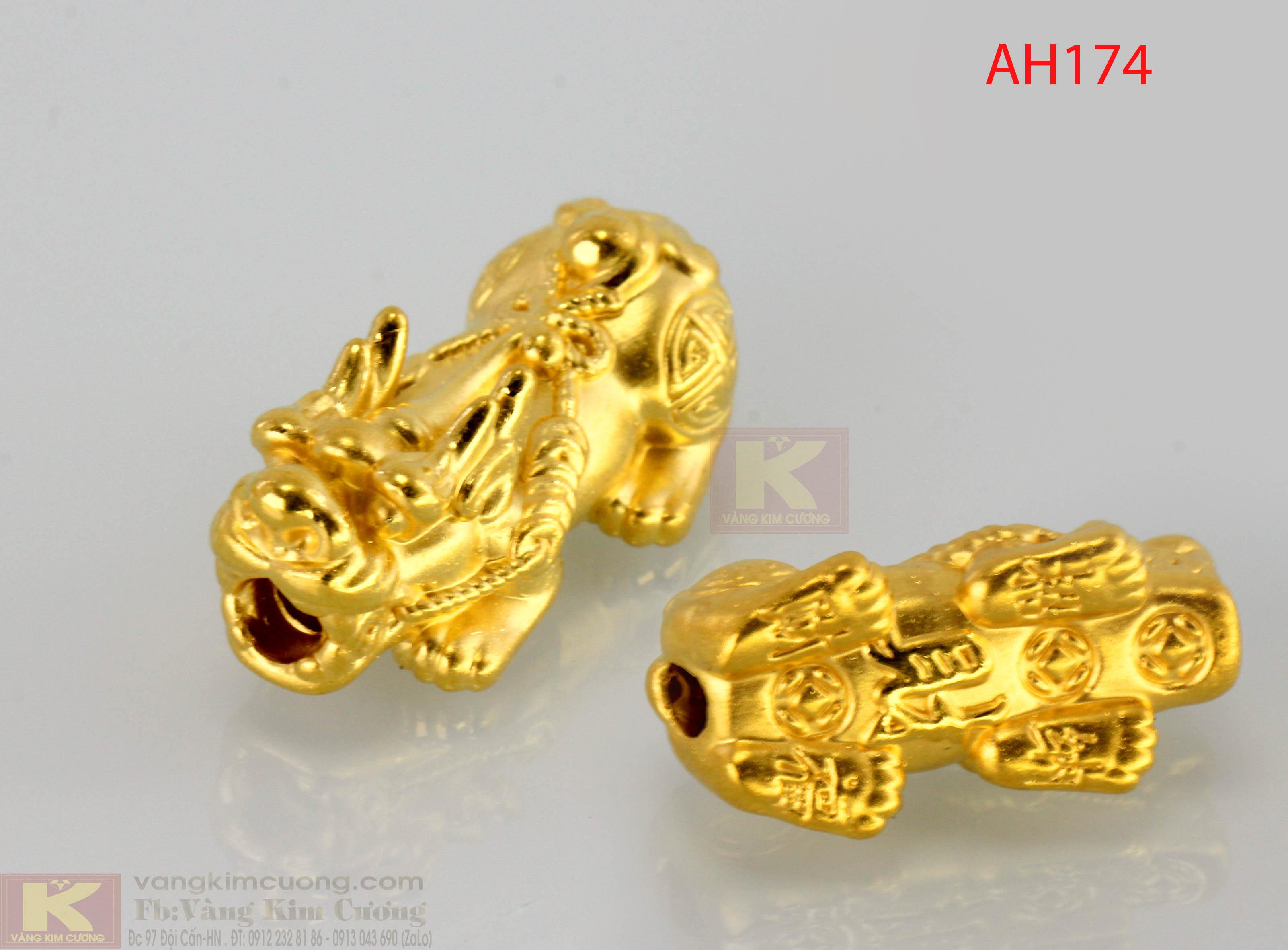 Tỳ hưu vàng 24k mã AH174