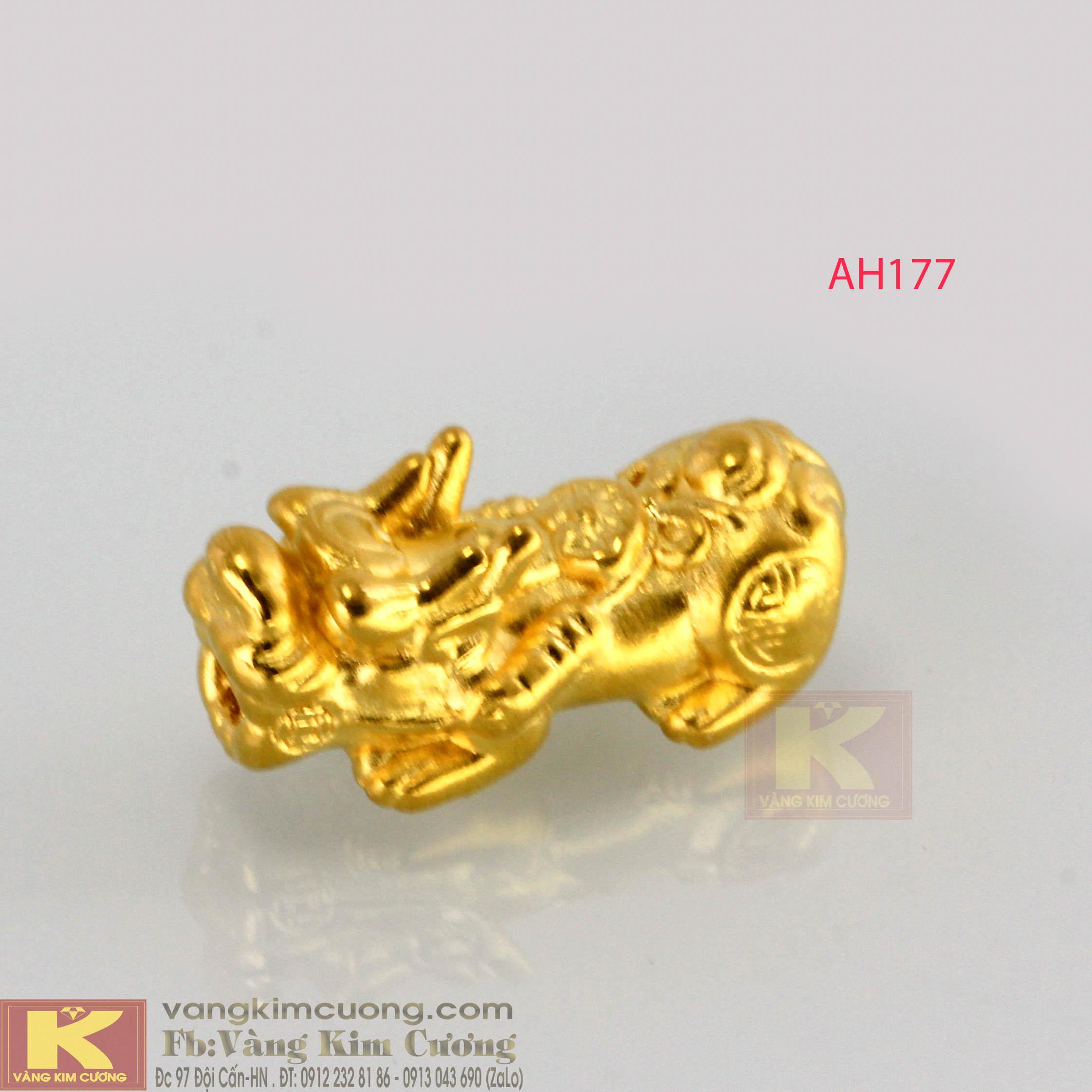 Tỳ hưu vàng 24k mã AH177