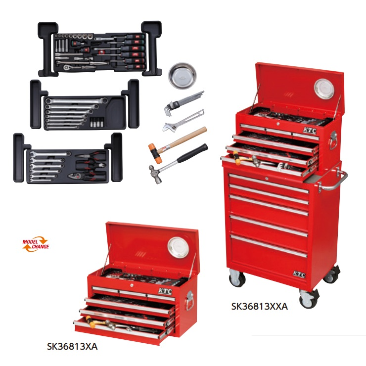 Bộ dụng cụ cho xưởng Yamaha, dung cụ xưởng Yamaha, KTC  SK36813XXA, KTC SK36813XA