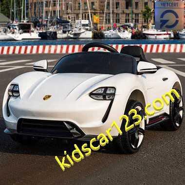 Xe hơi điện trẻ em KS-6988 màu trắng thumnail