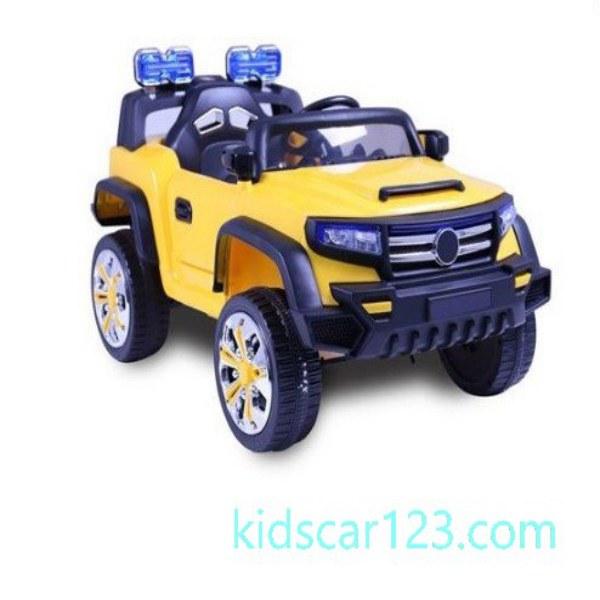 xe điện trẻ em Mercedes SUV TR2338 màu vàng thumnail