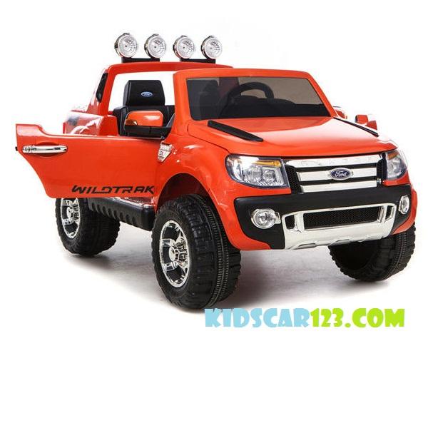 Ô tô điện Trẻ em Ford Ranger màu cam thumnail