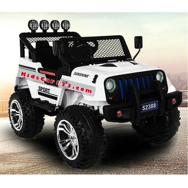 Xe hơi điện 4 động cơ cho bé - S2388 thumnail 1