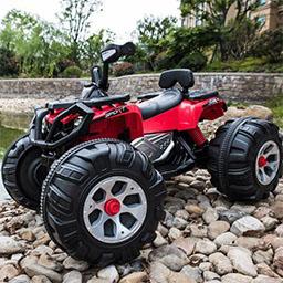 Xe hơi điện trẻ em JS 3188 màu đỏ