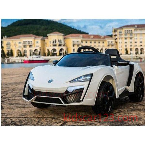 Xe hơi điện dành cho trẻ em TR 1587 màu trắng thumnail