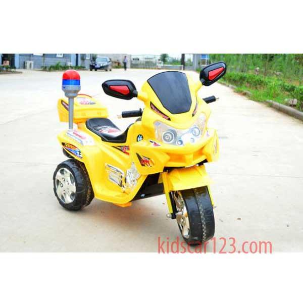 xe mô tô police - BQ5188 màu vàng