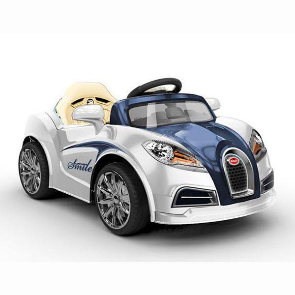 ô tô điện trẻ em kiểu dáng cổ HL 938 (TR1908) màu trắng thumnail