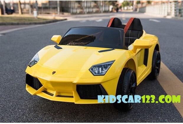 ô tô điện trẻ em BBH 718 màu vàng thumnail