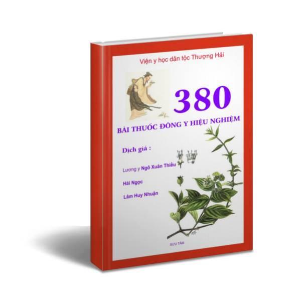 380 bài thuốc đông y hiệu nghiệm