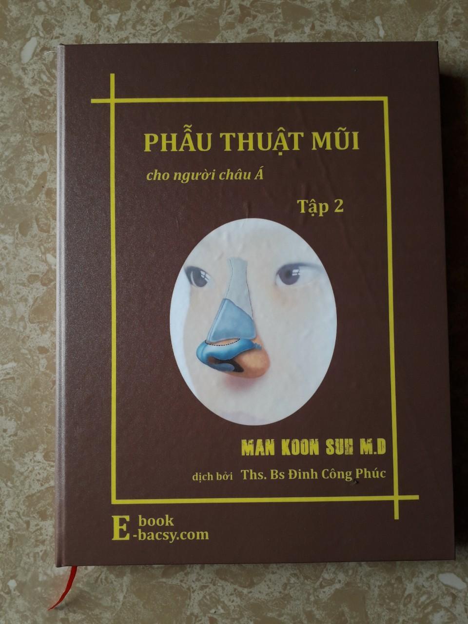 Sách phẫu thuật mũi người châu á ( Bộ 3 tập )