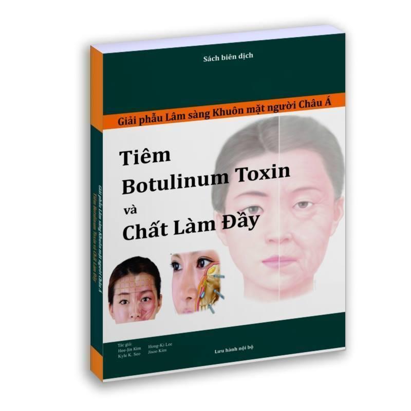 Sách Giải phẫu lâm sàng khuôn mặt người châu Á để tiêm Botulinum Toxin và Chất làm đầy