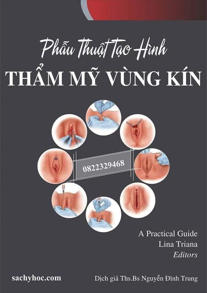 Sách phẫu thuật tạo hình thẩm mỹ vùng kín ( có DVD )