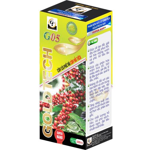 Phân bón hữu cơ sinh học G05 chuyên cho cây cà phê và cây hồ tiêu