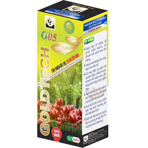 Phân bón hữu cơ sinh học G05 chuyên cho cây xanh đô thị, cỏ và cây hoa