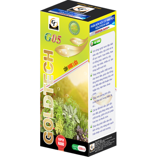 Phân bón hữu cơ sinh học G05 chuyên cho cây dược liệu