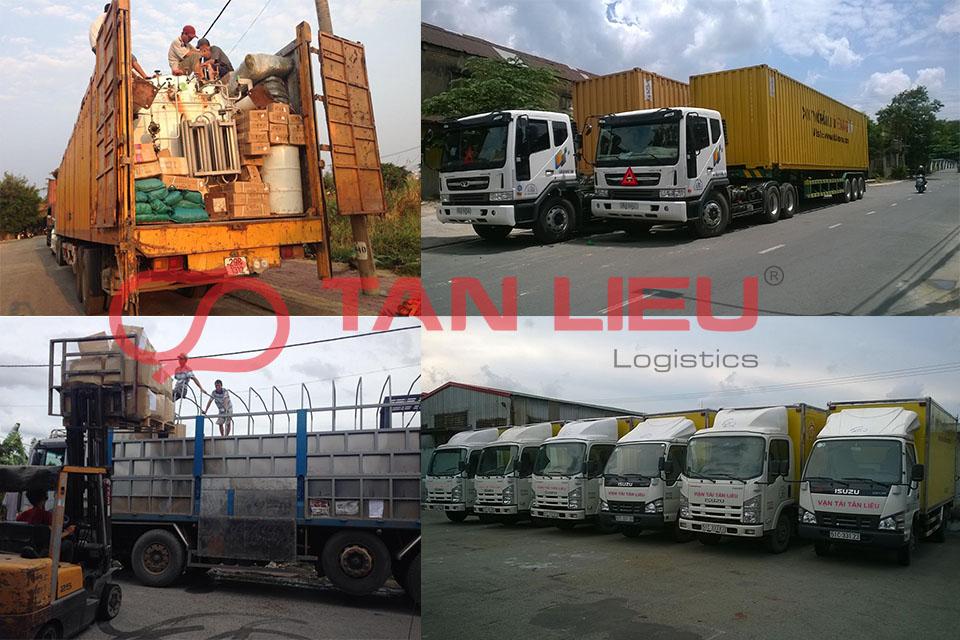 Phương tiện vận chuyển hàng đi Hà Nội